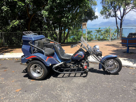 Trike at Port Douglas Flagstaff Hill lookout